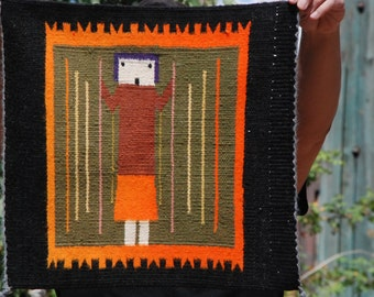 Navajo single figure Yei rug, ca. 1970
