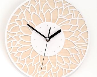 birch flower clock
