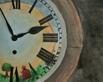 Print Wall Clock