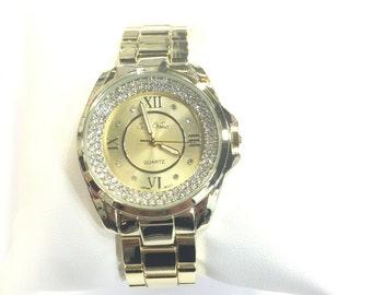 Vice Versa Gold Fashion Ladies Watch