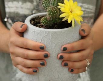 Concrete Planter, Cement Planter, Planter, Cement Pot, Indoor Planter, concrete vase, Modern Planter, Succulent Planter, Pot for Succulent
