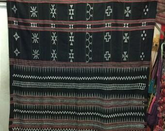 Vintage tribal Kotu women whole body skirt in Quang Nam province,Centre of Vietnam