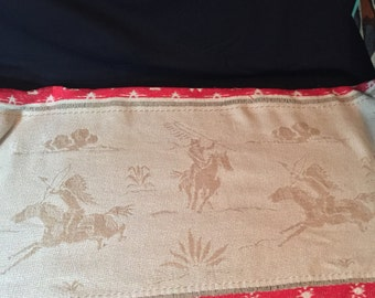 "Bedspread - Twin - ""Cowboys and Indians"""
