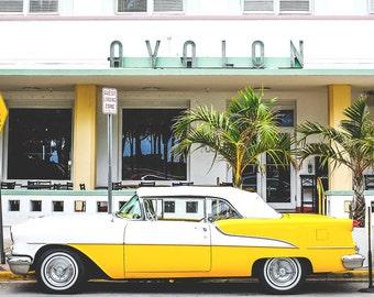 Miami Photography, Travel Photography, Vintage Car Photos, Palm Trees