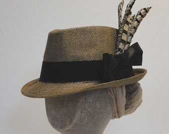 1890s Reproduction Straw Hat