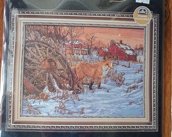Counted Cross Stitch Kit The Hiding Place