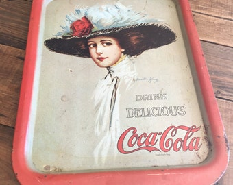 Vintage Coca-Cola Tin Tray