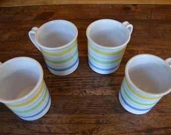 Striped Mugs