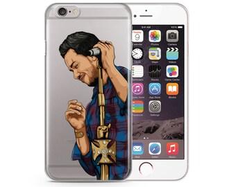 Romeo Santos iPhone 6s Case Hand Drawn iPhone Casae, Illustrated iPhone Case, iPhone 7 case, iPhone 7 Plus Case