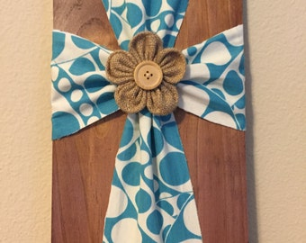 Fabric Wood Cross