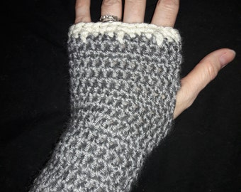 Icicle Fingerless Gloves