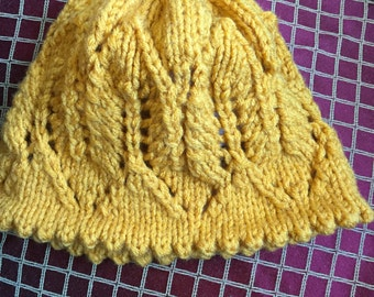 3 gold winter hat 3