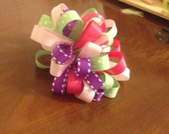 Loopy Puff Ribbon Bow