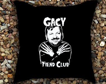 John Wayne Gacy Fiend Club Pillow