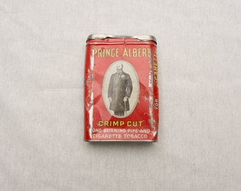 Vintage Prince Albert Pipe and Cigarette Tobacco Tin