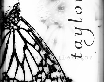 Butterfly I White