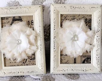 Floral Decorative Frame Set