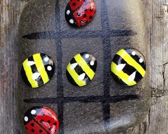 Ladybird & Bumbblebee Tic Tac Toe