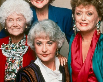 The Golden Girls 8x10 Photo Print Color