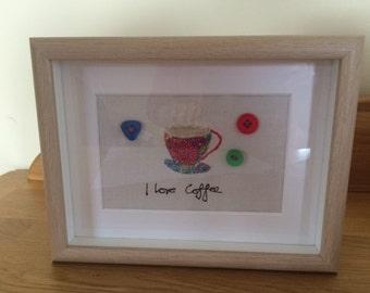 I love coffee frame