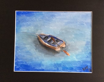 Rowboat in Spetses