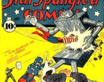 Star Spangled comic collection on dvd