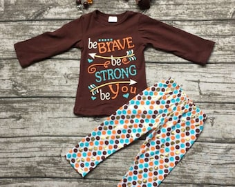 Be Brave Be Strong outfit