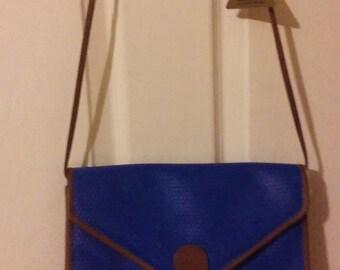 Vintage 1980s Liz Claiborne shoulder bag, new-old, never used, tags attached