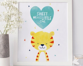 Nursery Animals Wall Art printable / Instant Download