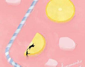 Artwork Illustration art Lemonardo Dicaprio