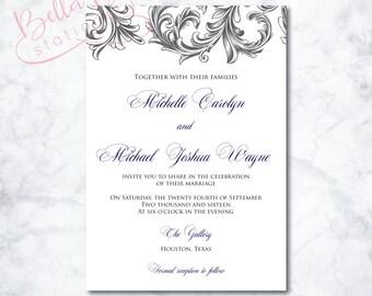 Olivia Wedding Invitation Suite