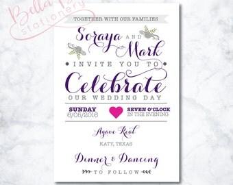 Penny Wedding Invitation Design