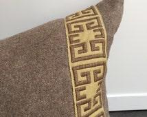 Custom Wool Oversized Lumbar