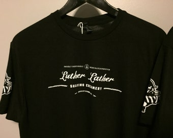 Luther Lather Shaving Creamery tshirt
