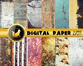 Chipped Paint,Rusty Metal Texture,Rusty Scrapbook Paper,Rusty Metal Paper,Сracky Rusty Background,Rusty Metal Backdrop,Old Metal Background