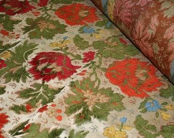 Floral Vintage Upholstery