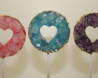 Geode Lolly Pop / Cake Topper