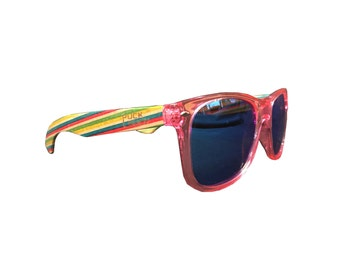 PINK Sunglasses - Pucksuck, sunglasses, raccoon, raccoon
