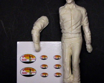 1:25 G scale Hellfighters Chance Buckman oil well firefighter figure
