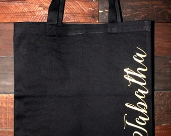 Personalized Bridesmaids Tote
