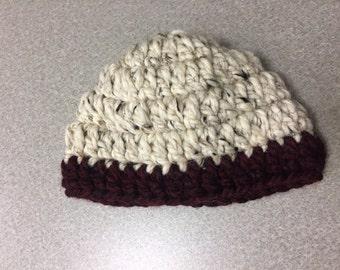 Double Crochet Infant Beanie