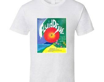 Vintage Surf Film Fluid Drive T-shirt