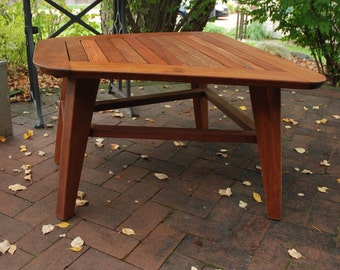 Mid Century Modern Outdoor Coffee Table