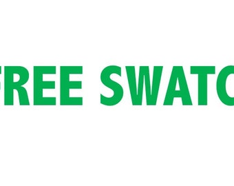 Free FABRIC SWATCH