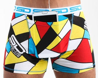 Abstract Digi-cam Smuggling Duds Boxer Briefs
