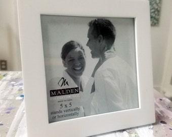 White 5x5 Frame by Malden