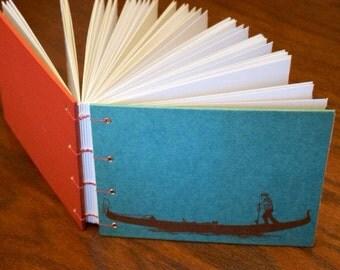 Venetian Sketchbook Upcycled Journal