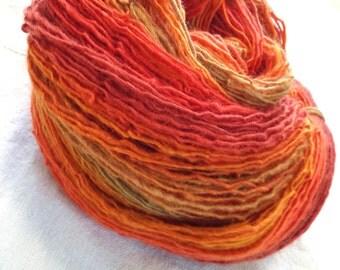 Heraclitus Handspun Yarn - 324+ yds, wool and other fibers
