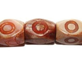 Agate Carved Nugget Gemstone Beads