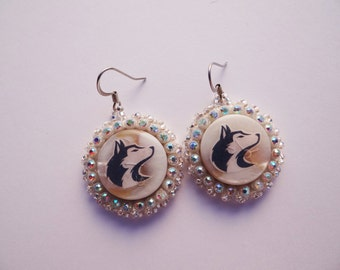 Husky Beaded Earrings